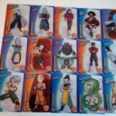 Trading Cards: DRAGON BALL. LOTE 30 CARTAS DIFERENTES. PERFECTO ESTADO (21-32) 2 FOTOS. Lote 236395030