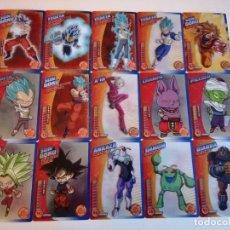 Trading Cards: DRAGON BALL. LOTE 30 CARTAS DIFERENTES. PERFECTO ESTADO (21-33) 2 FOTOS. Lote 236396580