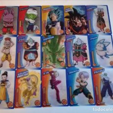 Trading Cards: DRAGON BALL. LOTE 26 CARTAS DIFERENTES. PERFECTO ESTADO (21-34) 2 FOTOS. Lote 236398470