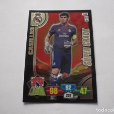 Trading Cards: CROMO Nº 445 CASILLAS (REAL MADRID) SUPER CRACK. TRADING CARDS ADRENALYN XL 2013-14 PANINI. Lote 236512815