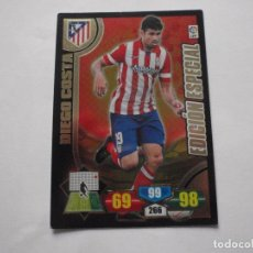 Trading Cards: CROMO DIEGO COSTA (AT. MADRID) EDICION ESPECIAL. TRADING CARDS ADRENALYN XL 2013-14 PANINI. Lote 236513330