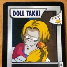 Trading Cards: CARTA TRADING CARD DRAGON BALL GT DOLL DOLL TAKKI 118. Lote 236515550