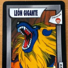 Trading Cards: CARTA TRADING CARD DRAGON BALL GT LEON GIGANTE 129. Lote 236517790