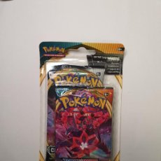 Trading Cards: PACK POKEMON CARTAS SOBRE OSCURIDAD INCANDESCENTE + CHOQUE REBELDE , BOOSTER CARD DARKNESS ABLAZE. Lote 236544435