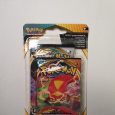 Trading Cards: PACK POKEMON CARTAS SOBRE OSCURIDAD INCANDESCENTE + CHOQUE REBELDE , BOOSTER CARD DARKNESS ABLAZE. Lote 236544470