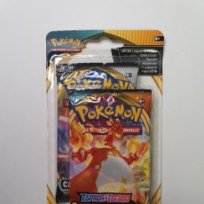 Trading Cards: PACK POKEMON CARTAS SOBRE OSCURIDAD INCANDESCENTE + CHOQUE REBELDE , BOOSTER CARD DARKNESS ABLAZE. Lote 236546605