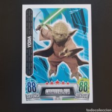 Trading Cards: CARD - N° 004 - STAR WARS FORCE ATTAX - TOPPS / CARREFOUR - AÑO 2016. Lote 236903005