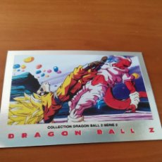 Trading Cards: DRAGON BALL Z SERIE 2 TRADING CARD PLATEADA. Lote 236904195