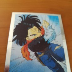 Trading Cards: DRAGON BALL Z SERIE 2 TRADING CARD PLATEADA. Lote 236904425