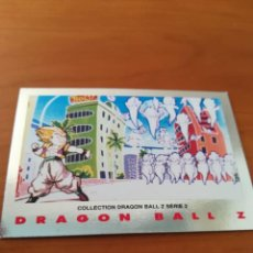 Trading Cards: DRAGON BALL Z SERIE 2 TRADING CARD PLATEADA. Lote 236904510