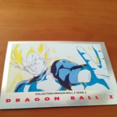 Trading Cards: DRAGON BALL Z SERIE 2 TRADING CARD PLATEADA. Lote 236904690