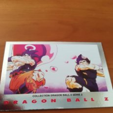 Trading Cards: DRAGON BALL Z SERIE 2 TRADING CARD PLATEADA. Lote 236904735