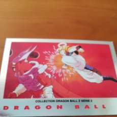 Trading Cards: DRAGON BALL Z SERIE 2 TRADING CARD PLATEADA. Lote 236905230