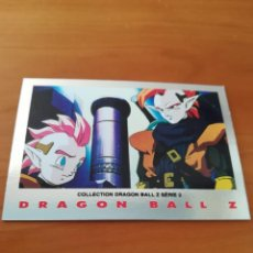 Trading Cards: DRAGON BALL Z SERIE 2 TRADING CARD PLATEADA. Lote 236905335