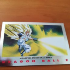 Trading Cards: DRAGON BALL Z SERIE 2 TRADING CARD PLATEADA. Lote 236905490