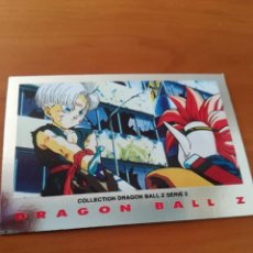 Trading Cards: DRAGON BALL Z SERIE 2 TRADING CARD PLATEADA. Lote 236905635