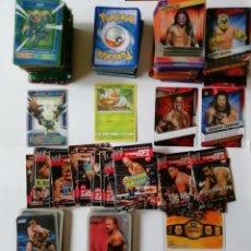 Trading Cards: CARDS DE PLASTICO LUCHA LIBRE. Lote 236922165