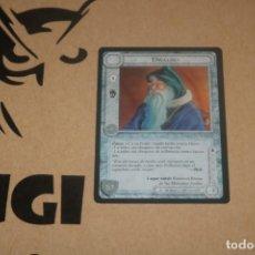 Trading Cards: CARTA DWALIN ENANO PERSONAJE MAGOS LIMITADA BORDE NEGRO SATM JOC INTERNACIONAL 1995 MECCG TOLKIEN. Lote 236985500
