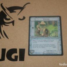 Trading Cards: CARTA HALDIR PERSONAJE MAGOS LIMITADA BORDE NEGRO SATM JOC INTERNACIONAL 1995 MECCG TOLKIEN. Lote 236986360