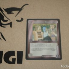 Trading Cards: CARTA HOMBRES DORWINION FACCIÓN MAGOS LIMITADA BORDE NEGRO SATM JOC INTERNACIONAL 1995 MECCG TOLKIEN. Lote 236987965