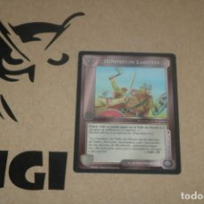 Trading Cards: CARTA HOMBRES LAMEDON FACCIÓN MAGOS LIMITADA BORDE NEGRO SATM JOC INTERNACIONAL 1995 MECCG TOLKIEN. Lote 236988090