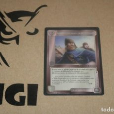 Trading Cards: CARTA HOMBRES RHOVANION FACCIÓN MAGOS LIMITADA BORDE NEGRO SATM JOC INTERNACIONAL 1995 MECCG TOLKIEN. Lote 236988655