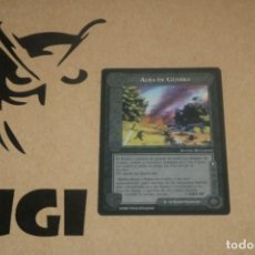 Trading Cards: CARTA ALBA GUERRA ADVERSIDAD MAGOS LIMITADA BORDE NEGRO SATM JOC INTERNACIONAL 1995 MECCG TOLKIEN. Lote 236988980