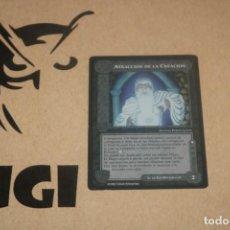 Trading Cards: CARTA ATRACCIÓN CREACIÓN ADVERS MAGOS LIMITADA BORDE NEGRO SATM JOC INTERNACIONAL 1995 MECCG TOLKIEN. Lote 236989425