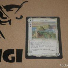 Trading Cards: CARTA AMON HEN FORTALEZA MAGOS LIMITADA BORDE NEGRO SATM JOC INTERNACIONAL 1995 MECCG TOLKIEN. Lote 236991605