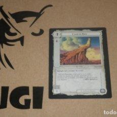 Trading Cards: CARTA CAMETH BRIN FORTALEZA MAGOS LIMITADA BORDE NEGRO SATM JOC INTERNACIONAL 1995 MECCG TOLKIEN. Lote 236992105