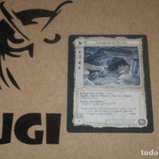 Trading Cards: CARTA CAVERNAS ULUND FORTALEZA MAGOS LIMITADA BORDE NEGRO SATM JOC INTERNACIONAL 1995 MECCG TOLKIEN. Lote 236992560