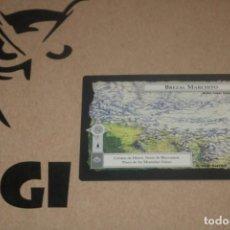Figurine Collezionabili: CARTA BREZAL MARCHITO REGIÓN MAGOS LIMITADA BORDE NEGRO SATM JOC INTERNACIONAL 1995 MECCG TOLKIEN. Lote 236995485