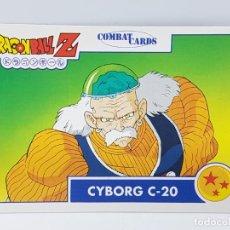 Cartas Colecionáveis: Nº 103 CYBORG C-20 DRAGON BALL Z COMBAT CARDS / DBZ CARD. Lote 238720170
