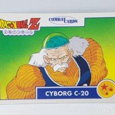 Cartas Colecionáveis: Nº 103 CYBORG C-20 DRAGON BALL Z COMBAT CARDS / DBZ CARD. Lote 238720205