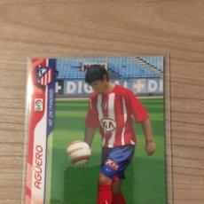 Trading Cards: MEGACRACKS 06-07 SERGIO AGÜERO ROOKIE CARD. Lote 240962370