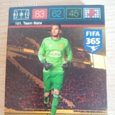 Trading Cards: Nº 101 SERGIO ROMERO TEAM MATE MANCHESTER UNITED FC ADRENALYN XL FIFA 365 2015 2016 PANINI CARDS. Lote 264993394