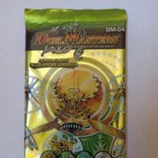 Trading Cards: SOBRE DE JUEGO DE CARTAS DUEL MASTERS DM-04 TCG [PRECINTADO]. Lote 242823570