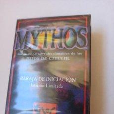 Trading Cards: MYTHOS - JUEGO DE CARTAS COLECCIONABLES DE LOS MITOS DE CTHULHU [PRECINTADO]. Lote 242824820