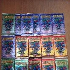 Trading Cards: GENIO CARDS MARVEL - LOTE 16 SOBRES [PRECINTADOS]. Lote 242831755