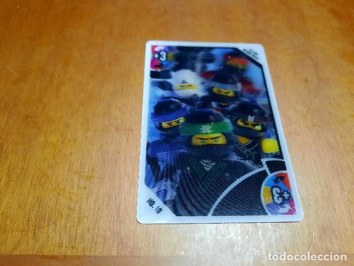 CARTA OLOGRAMA +3 Nº 18. TOYS R US. BUEN ESTADO. SIN USO. DIFICIL (Coleccionismo - Cromos y Álbumes - Trading Cards)