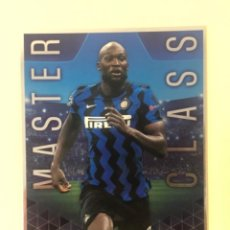 Trading Cards: TOPPS BEST OF THE BEST MASTER CLASS ROMELU LUKAKU TRADING CARD GIGANTE. Lote 243223955