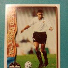 Trading Cards: Nº 28 JAVI NAVARRO, VALENCIA C.F., FICHAS LIGA 1996 1997 96/97 MUNDICROMO. Lote 262115345