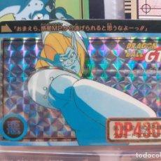 Trading Cards: DRAGON BALL GT HONDAN 98 CON LETRAS TACHADAS DE MADE IN JAPAN. Lote 243467495