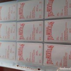 Trading Cards: COLECCIÓN COMPLETA DE CROMOS-TARJETAS DE HISTORIA DE TUS PELÍCULAS. Lote 243320935