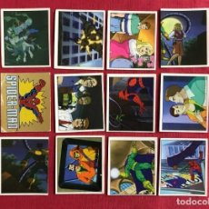 Trading Cards: LOTE 12 CROMOS SPIDERMAN - PANINI MARVEL COMICS 1995. Lote 143939166