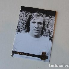 Trading Cards: REAL MADRID 112 - GUNTHER NETZER - SIN USAR , IMPECABLE - ENVIO GRATIS. Lote 243852930