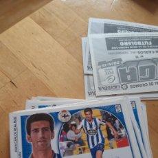 Trading Cards: JUAN CARLOS DEPORTIVO CORUÑA ESTE 14 15 2014 2015 SIN PEGAR. Lote 243864600