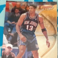 Trading Cards: CARD BOWMAN´S BEST NBA 1998 KENDALL GILL NEW JERSEY NETS. Lote 243871550