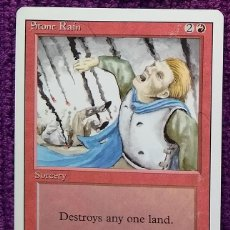Trading Cards: 1X STONE RAIN - LLUVIA DE PIEDRAS - 3RD ED - REVISED EDITION 1994 CARTAS MAGIC MTG. Lote 243840295