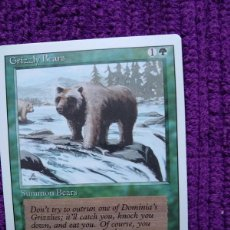 Trading Cards: 1X GRIZZLY BEARS - OSOS PARDOS - 3RD ED - REVISED EDITION 1994 CARTAS MAGIC MTG. Lote 243930790